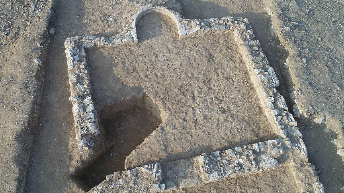 1200 Jahre alte Moschee in Israel entdeckt