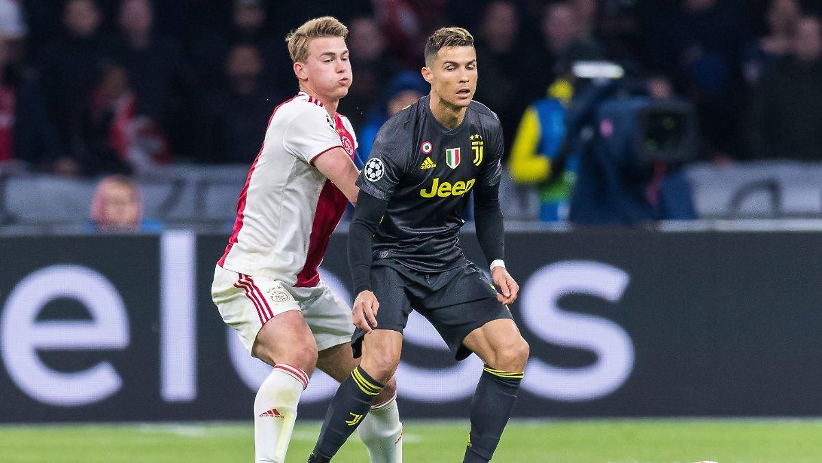 Ronaldo lockt de Ligt nach Turin