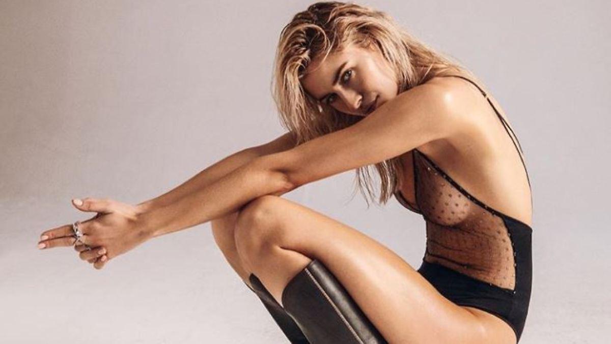 Lena Gercke wird zum sexy Cowgirl