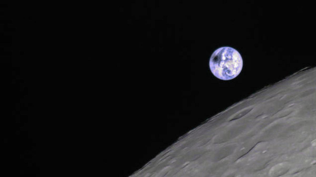 Amateur schießt Sonnenfinsternis-Foto aus Mondperspektive