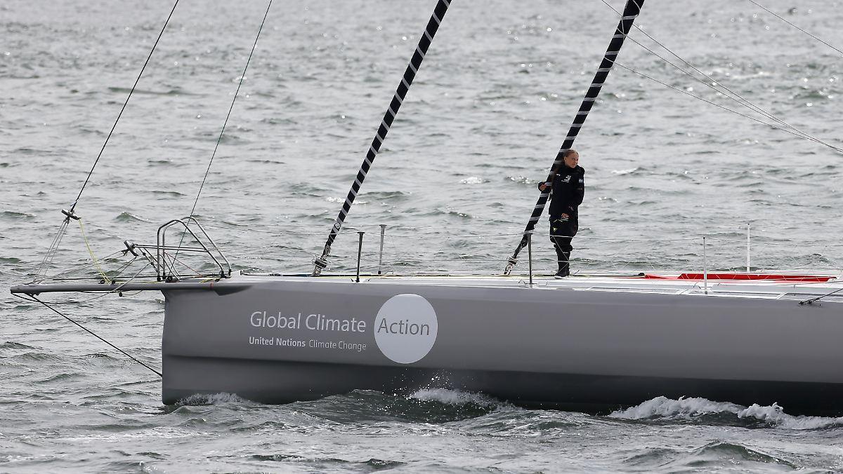 Thunberg-Team weist Kritik an Flügen zurück