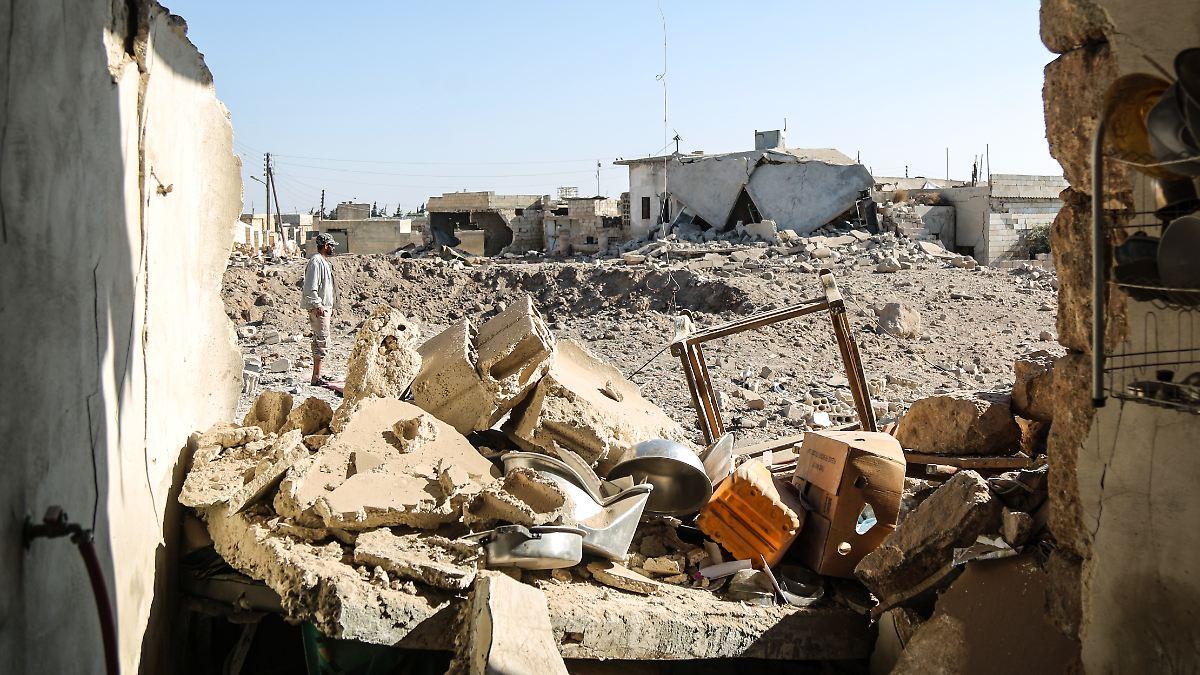 """Syrien will  mit """"Korridor"""" Flucht aus Idlib erleichtern"""