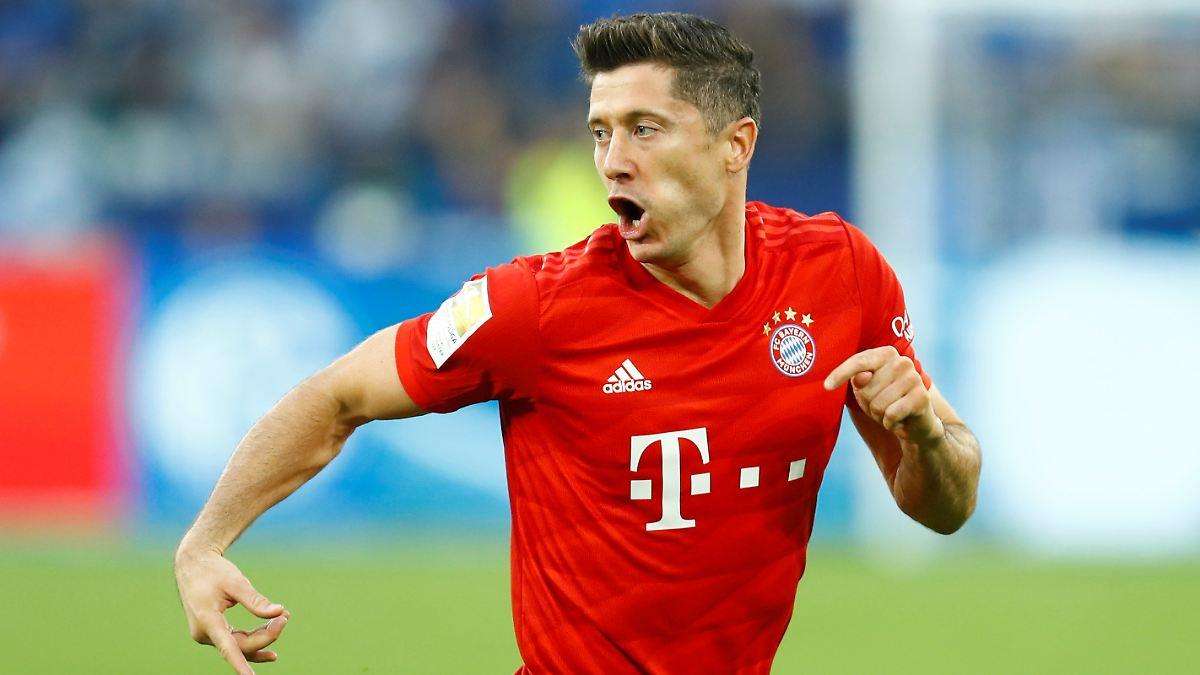 Bayerns Lewandowski lässt Schalke leiden