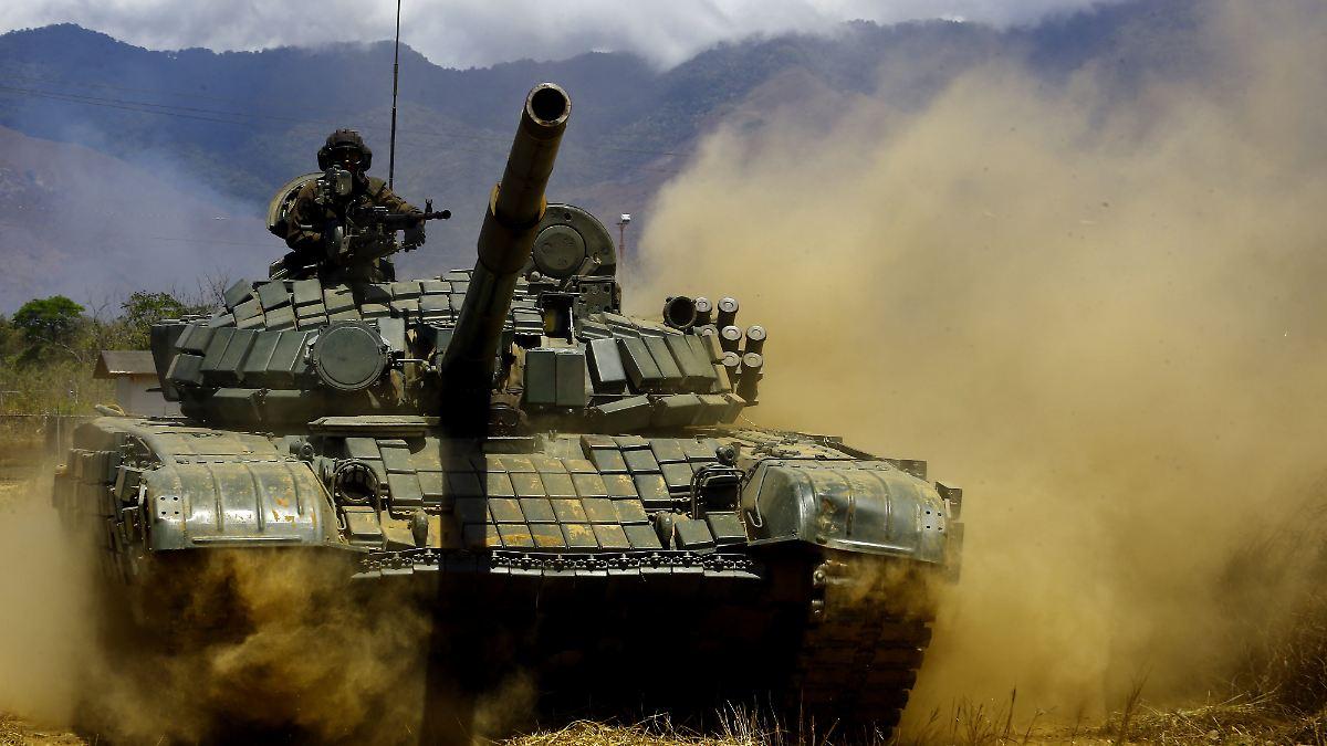 Venezuela beginnt Militärmanöver