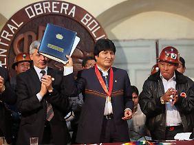 Von den mehr als 190 Teilnehmerstaaten lehnte allein Bolivien das Abkommen ab.