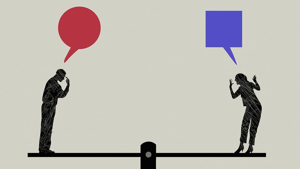 Wie glückliche Paare streiten