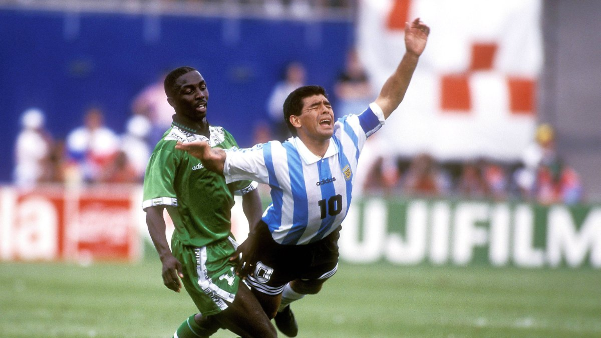 Als die Fifa Maradona nach Sevilla schickte