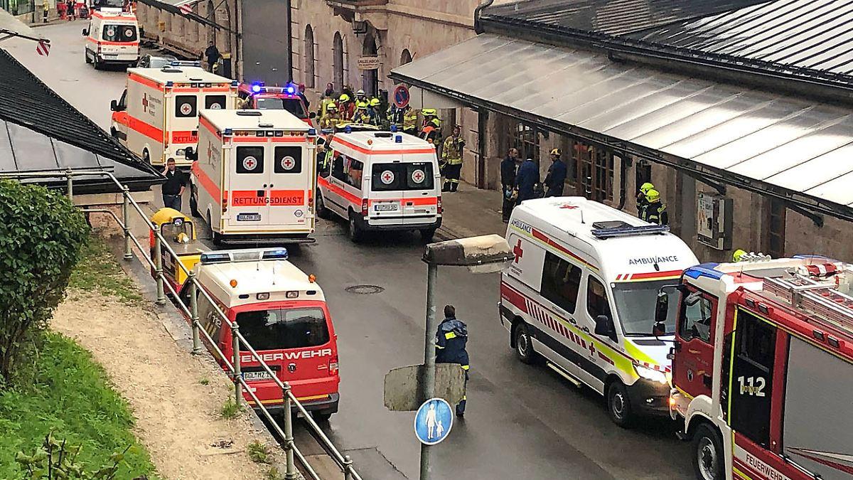 Explosion verletzt Arbeiter in Salzbergwerk