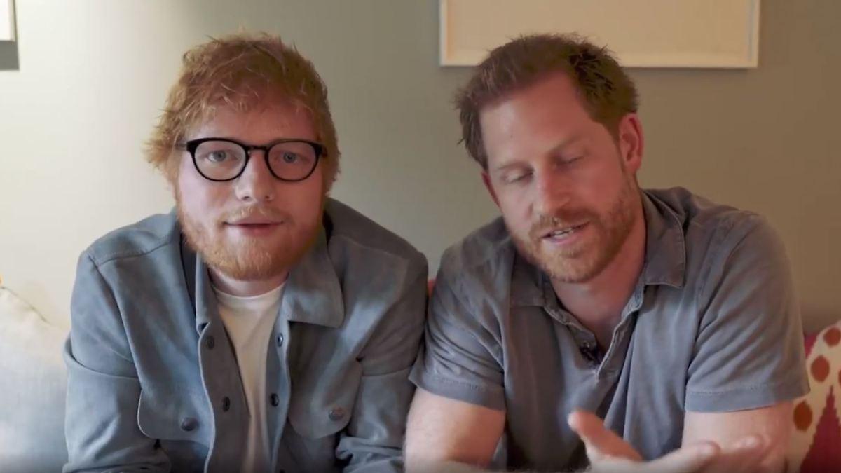Prinz Harry und Ed Sheeran kämpfen vereint