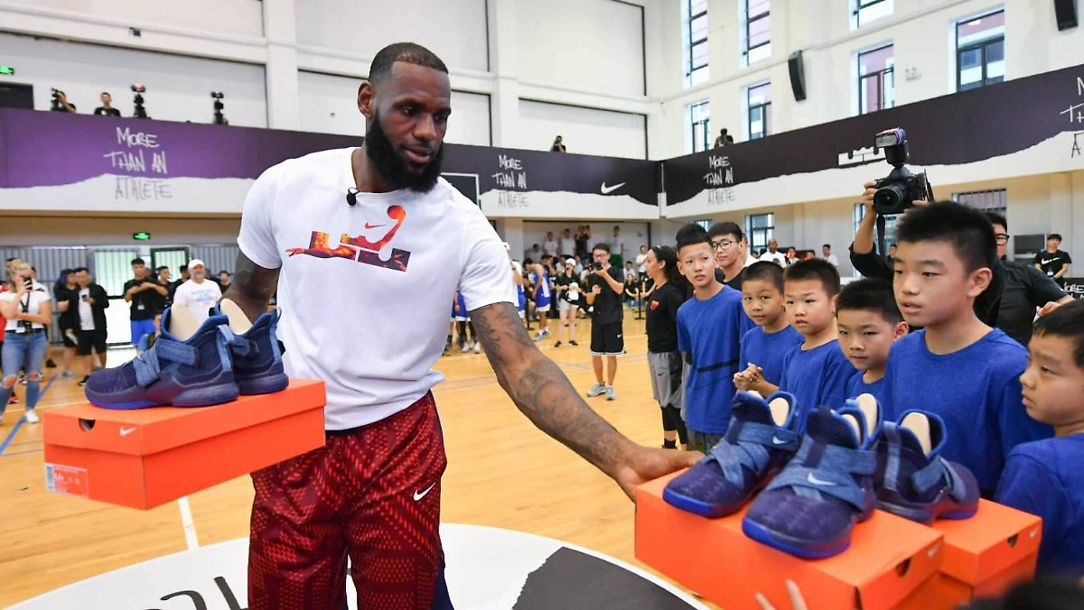 Basketball-Ikone LeBron James irritiert