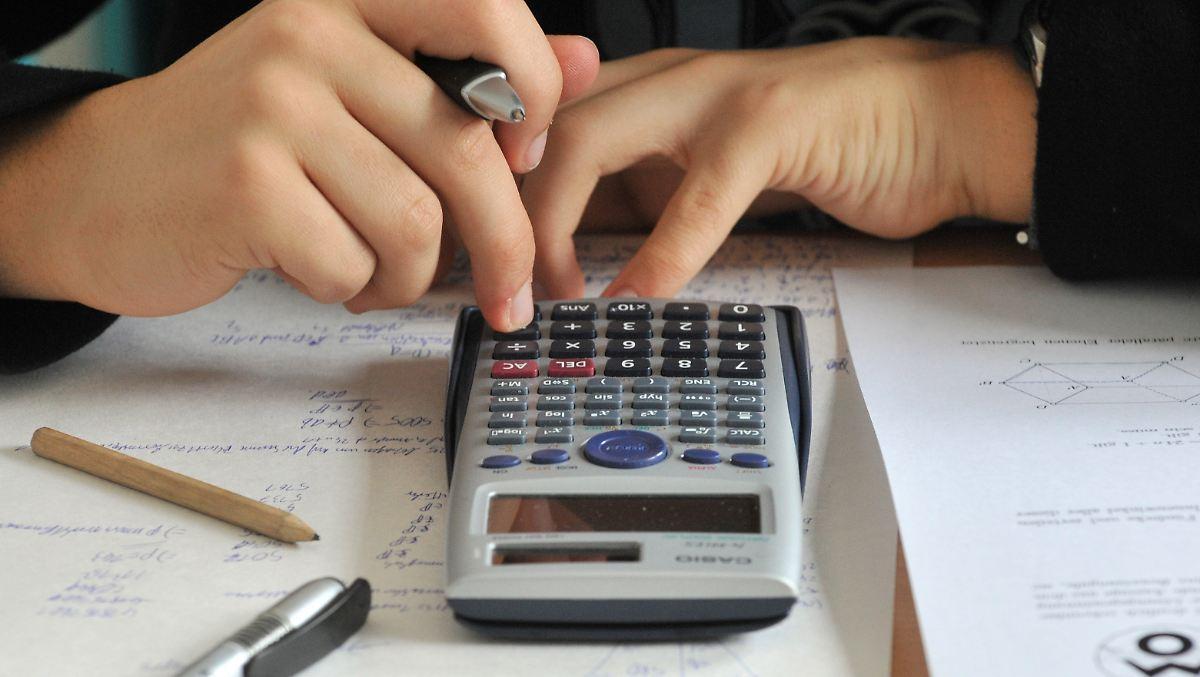 Viele Neuntklässler schwächeln in Mathe