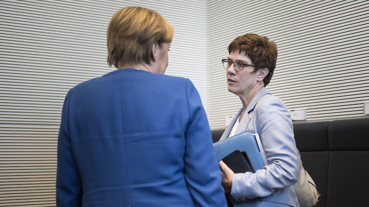 Truppenverband erwartet Merkel-Machtwort