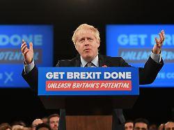 """Labour-Pläne bereiten Sorgen: Wirtschaft sieht in Johnson """"kleineres Übel"""""""