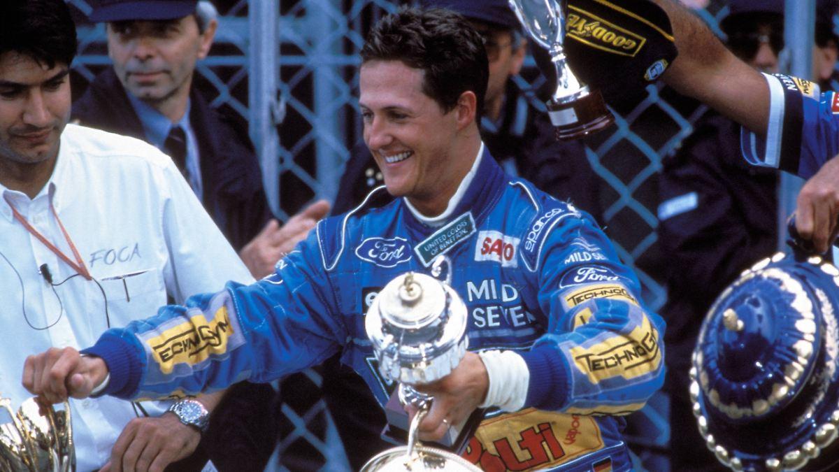 Wie Schumacher sich zum WM-Titel zitterte