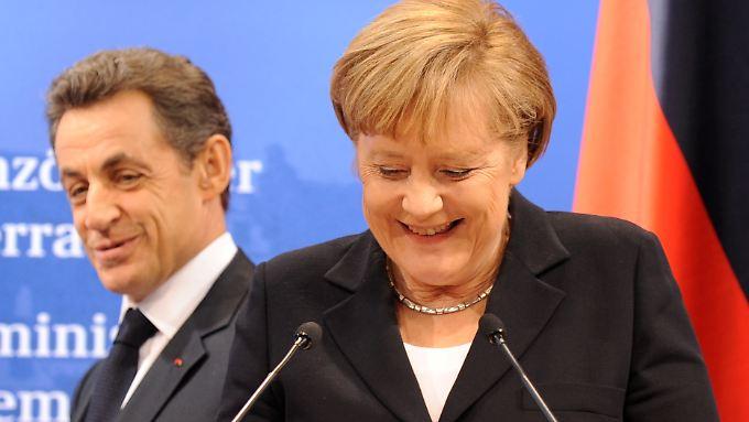 """Klares Nein zu Euro-Bonds: Merkel will """"Zeichen setzen"""""""