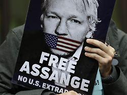 Vorwürfe fallen gelassen: Schweden stellt Ermittlungen gegen Assange ein