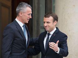 Nach Macrons Hirntod-Diagnose: Stoltenberg warnt vor Spaltung in der Nato