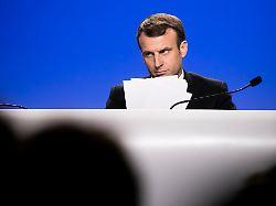 Reformpapier sickert durch: So radikal will Macron EU-Beitritte ändern