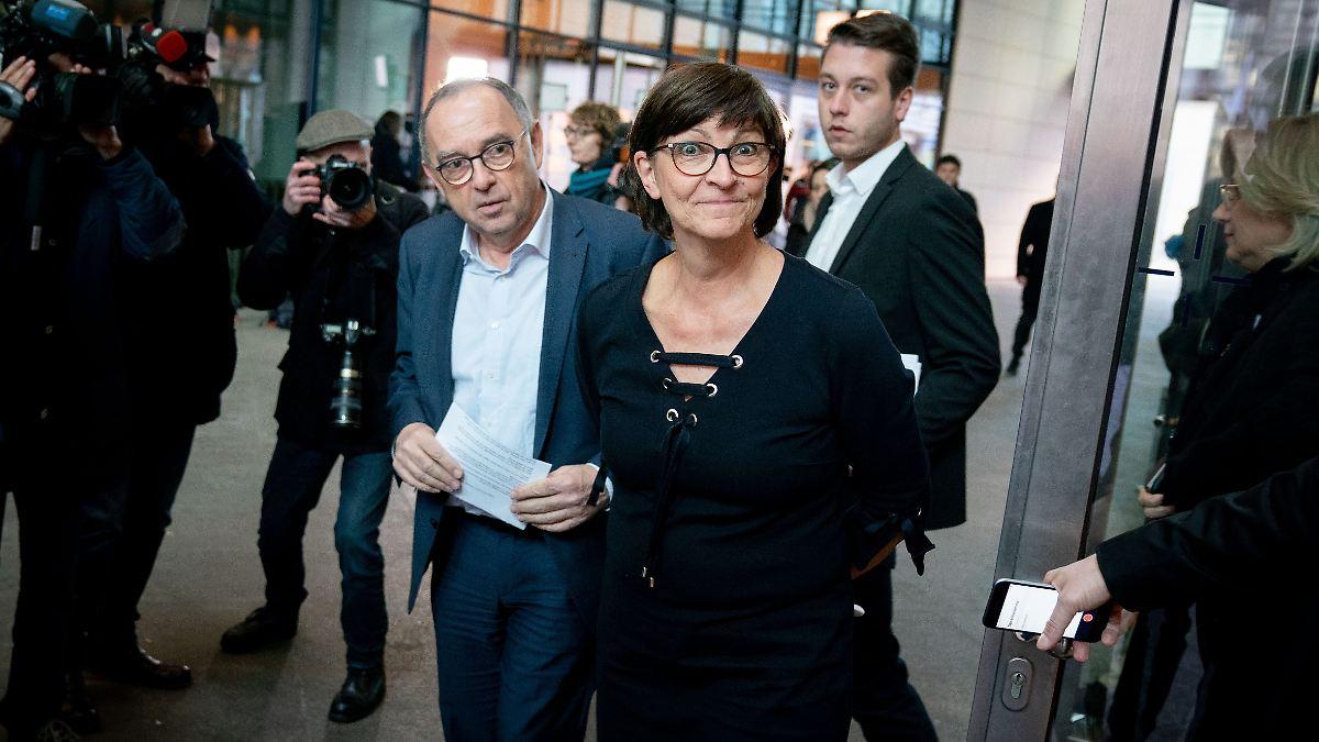 SPD-Spitze formuliert Forderungen an Union