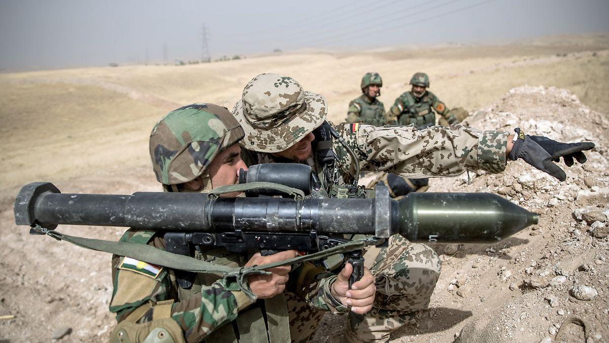 Wehrbeauftragter zweifelt an Irak-Mission