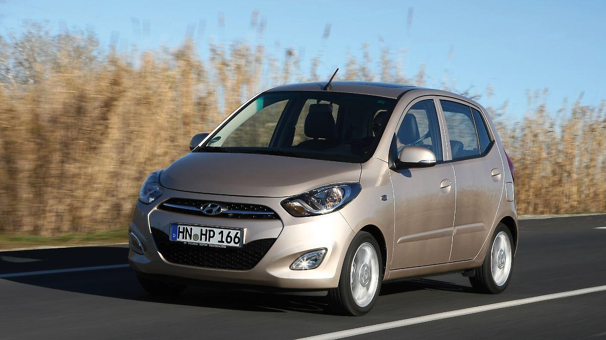 Hyundai i10 - gebraucht mit Schwächen