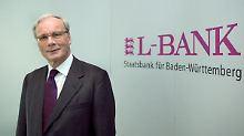 Die L-Bank (im Bild der Vorstandsvorsitzende Christian Brand) wird den Einstieg Baden-Württembergs bei der EnBW refinanzieren.