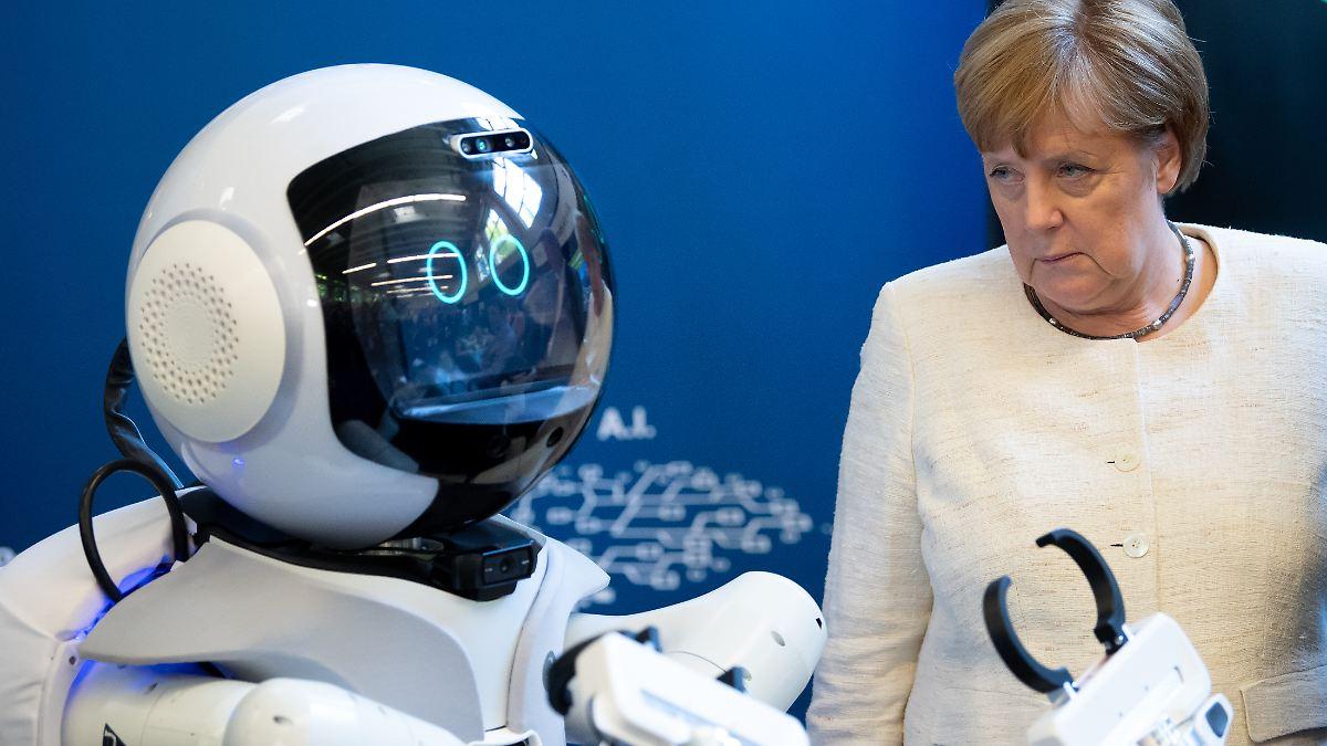 Roboter könnten Alte pflegen