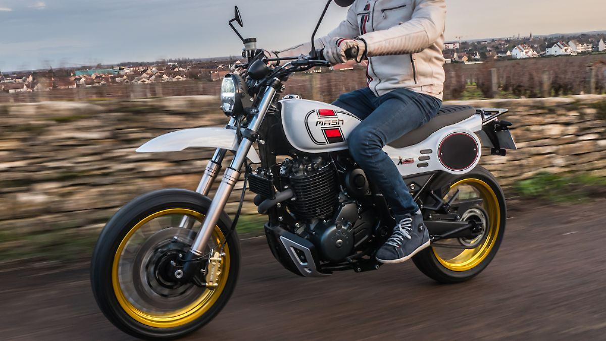 Mash X-Ride 650 - im Stile der Yamaha XT 500