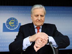 Jean-Claude Trichet will den Rettungsschirm stärken.