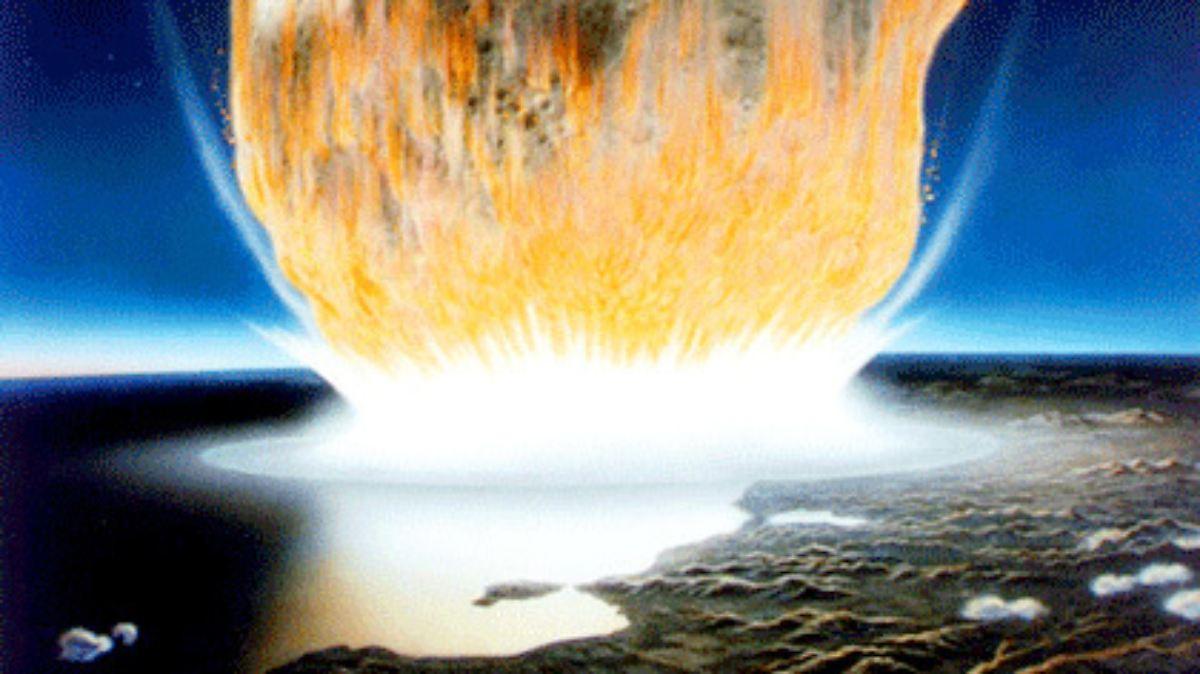 Asteroideneinschlag ließ Dinos aussterben