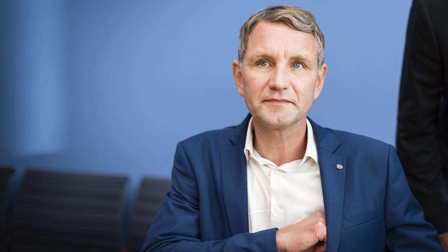 Über ein gescheitertes Interview: Björn Höcke will doch nicht reden - n-tv.de