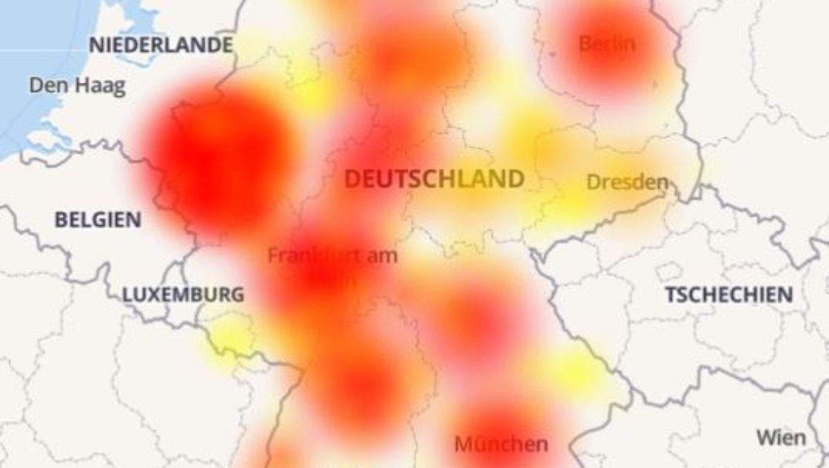 Massive Störung bei Festnetz und Internet