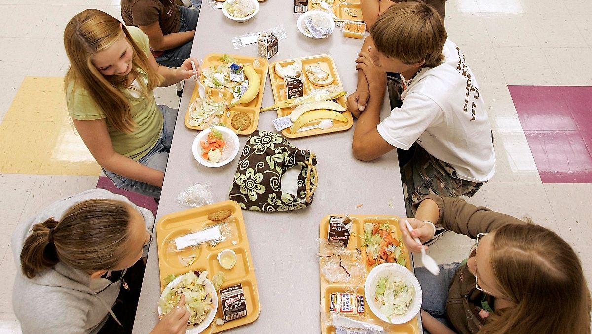 Trump will mehr frittiertes Essen an Schulen