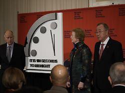 """""""Weltuntergangsuhr"""" tickt weiter: Noch 100 Sekunden bis zur Auslöschung"""
