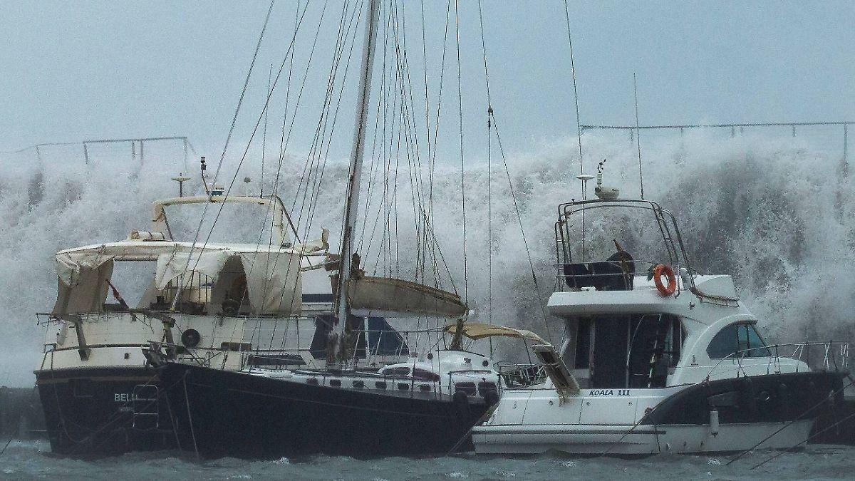 Mindestens 13 Tote durch Sturm in Spanien