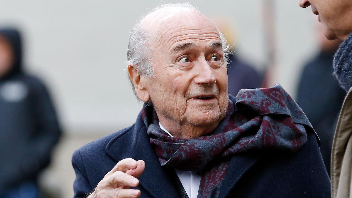 Schweiz stellt Ermittlung gegen Blatter ein