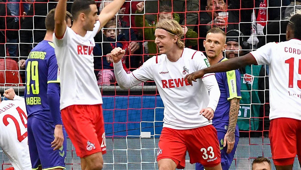 1. FC Köln verdrängt die Abstiegsangst