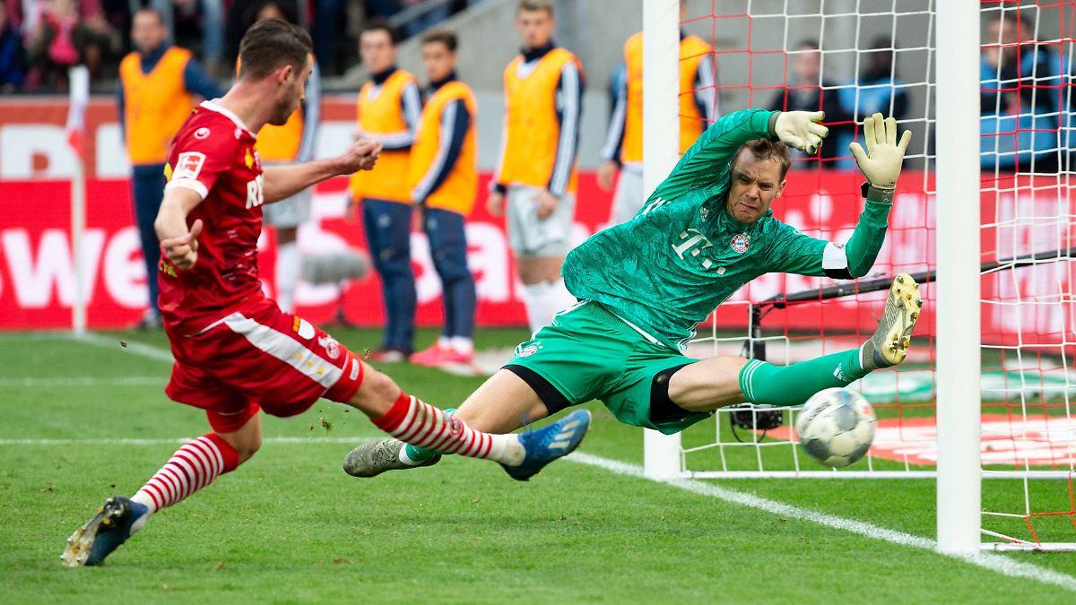 Nachlässigkeiten des FC Bayern ärgern Neuer