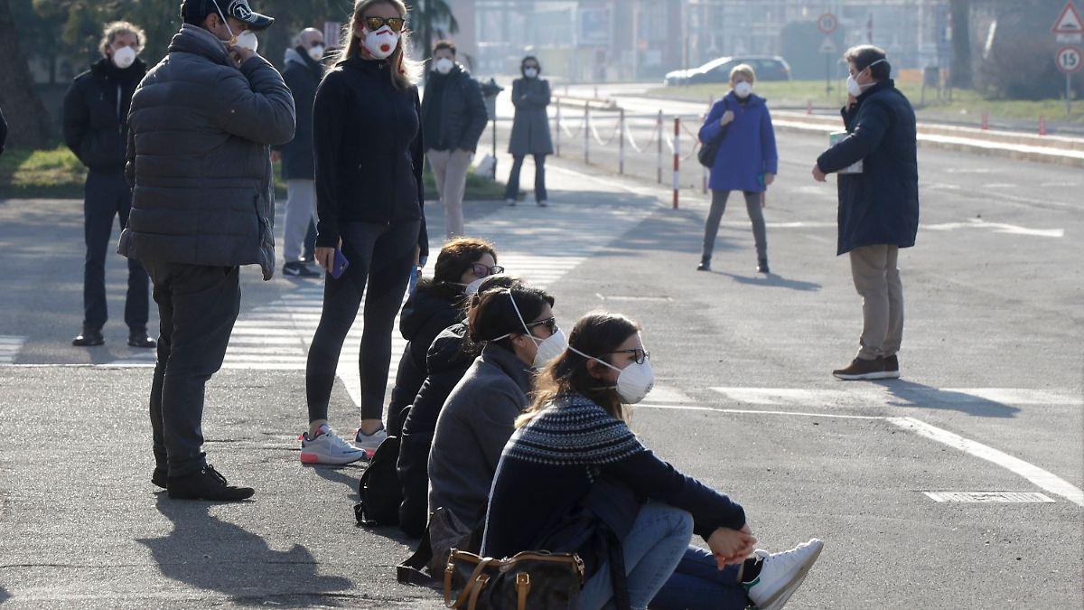 Italien will von Coronavirus betroffene Städte abriegeln