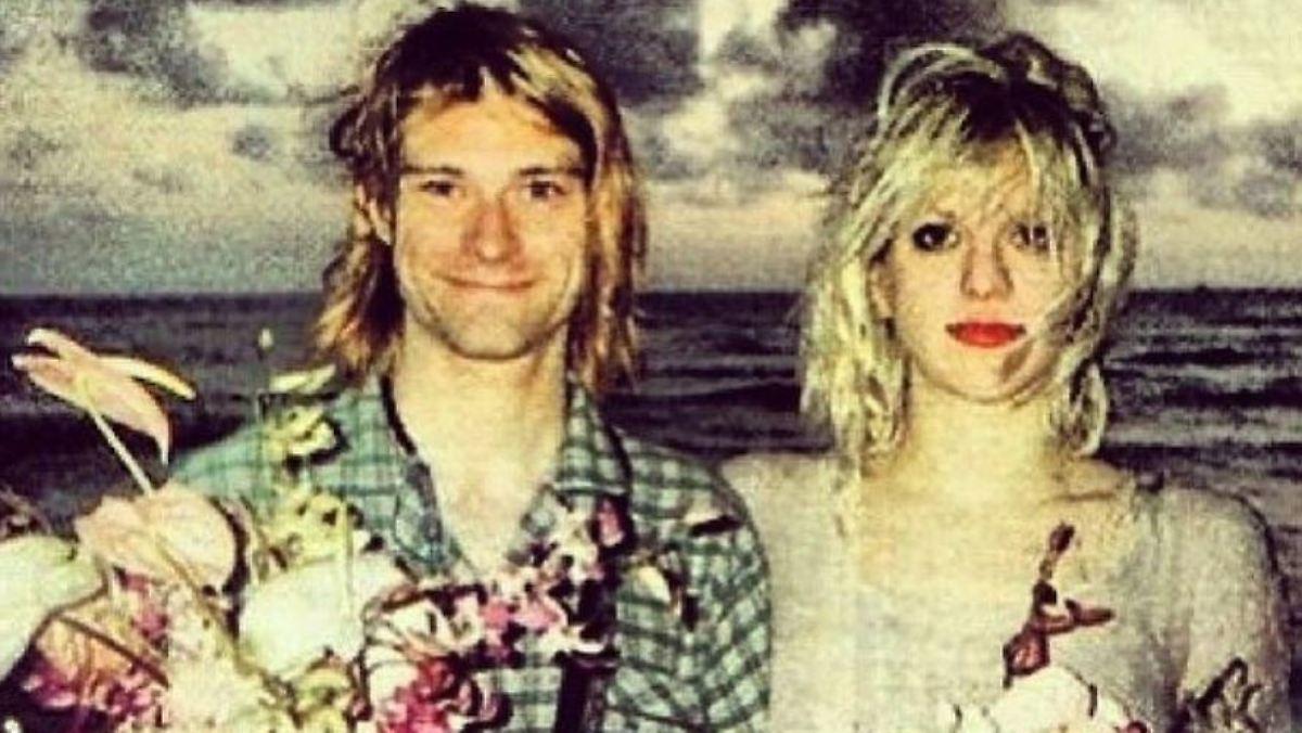 Courtney Love erinnert sich an Kurt Cobain