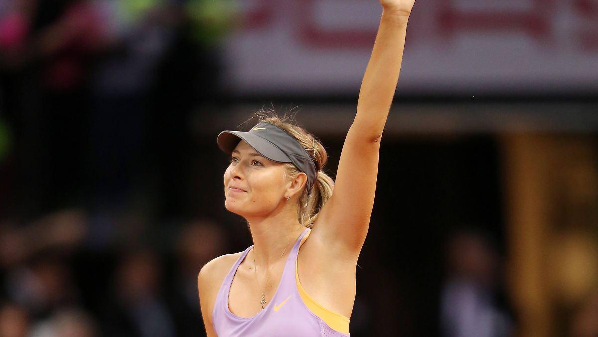 Maria Scharapowa beendet ihre Karriere