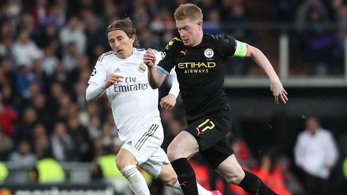 Defensives Man City kontert Real spät aus