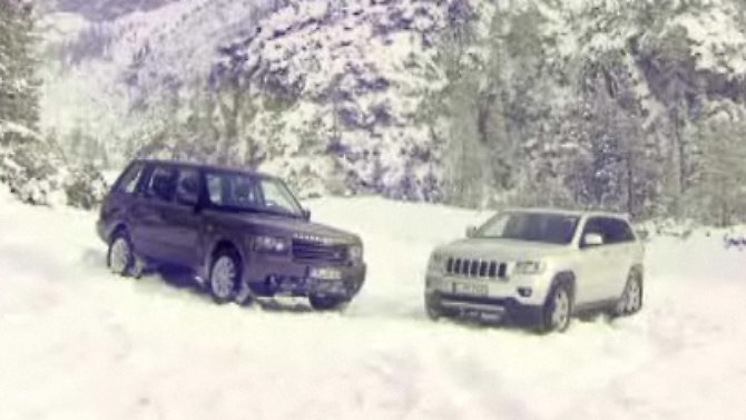 PS - Das Automagazin: Jeep Grand Cherokee vs. Range Rover