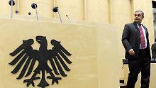 Vor dem Abgang? Müller soll offenbar ans höchste deutsche Gericht wechseln.