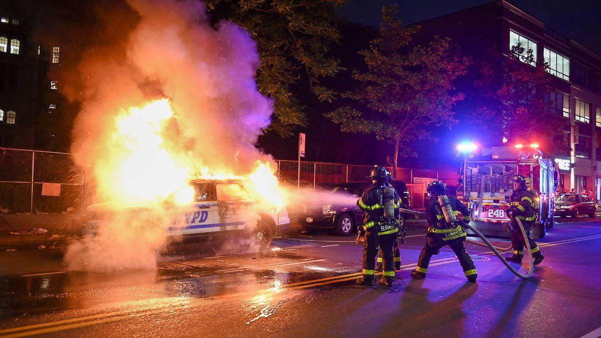 Leiche in Minneapolis nach Unruhen entdeckt