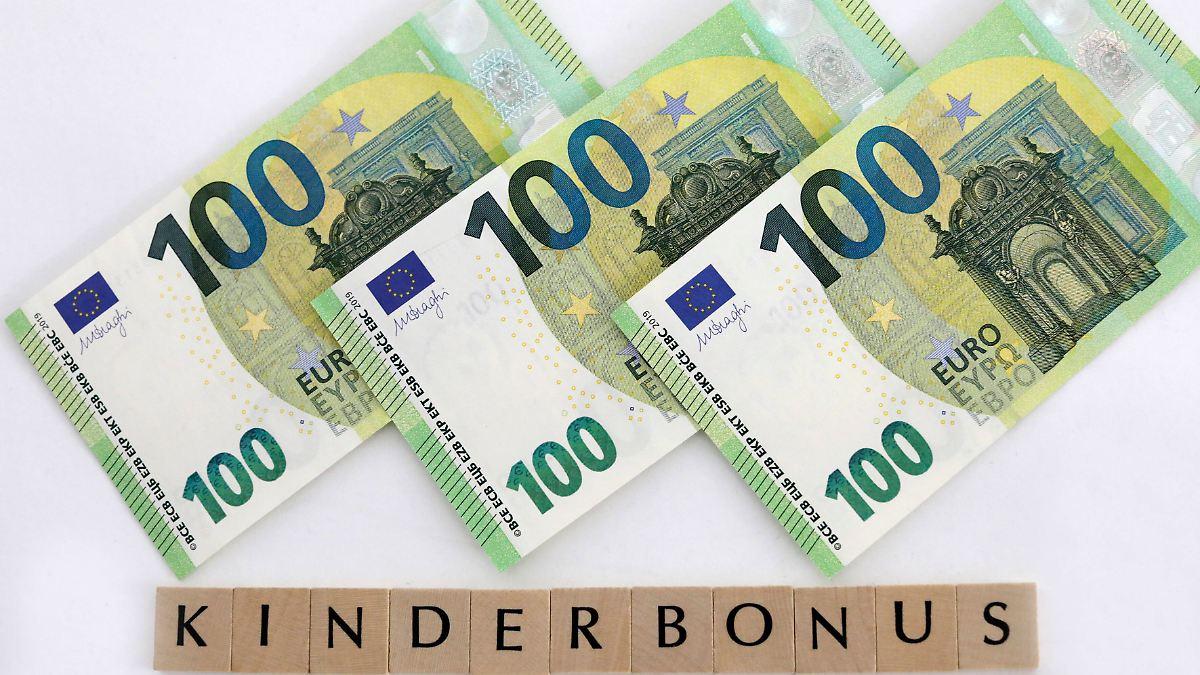 Kinderbonus 300 Euro