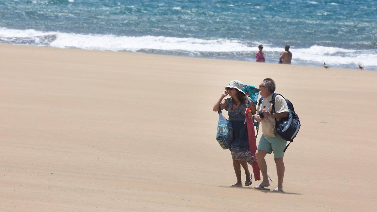 Sehnsucht nach Sonne: Corona-Flucht auf die Kanarischen Inseln