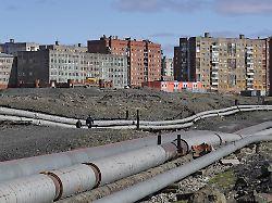 Nickelhauptstadt Norilsk - kalt, einsam und furchtbar schmutzig