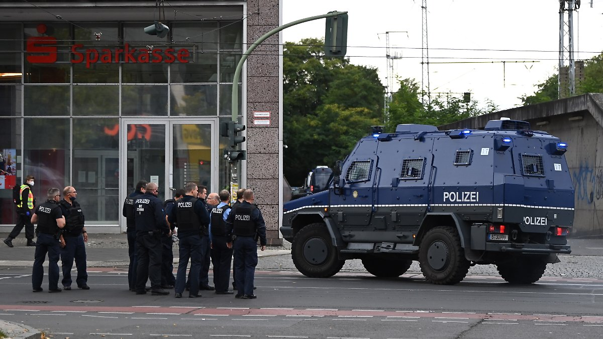 Banküberfall Frankfurt 2021