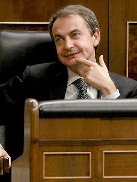 Freude über das Vertrauen aus Katar: Ministerpräsident Zapatero.